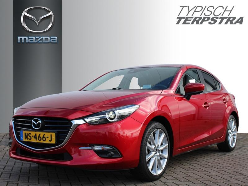 Mazda 3 Hb skyactiv-g 120 skylease gt apple carplay/trekhaak