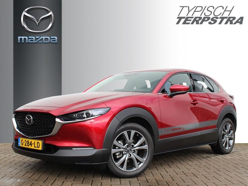 Mazda Cx-30 Skyactiv-x 180 luxury/ i-active/ schuif-/kanteldak/ radar cruise