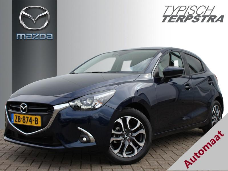 Mazda 2 Skyactiv-g 90 gt-m automaat/navi