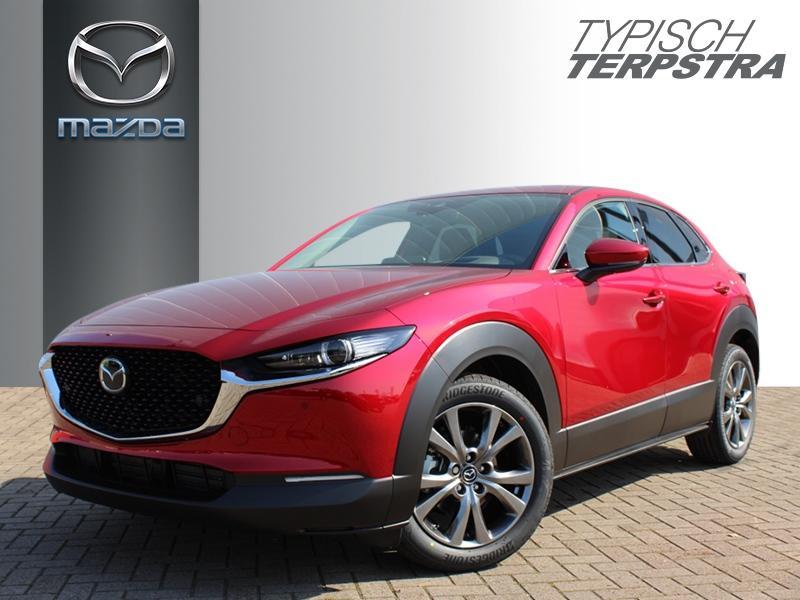 Mazda Cx-30 Skyactiv-x 180 m hybrid luxury/schuif-/kanteldak/i-activ