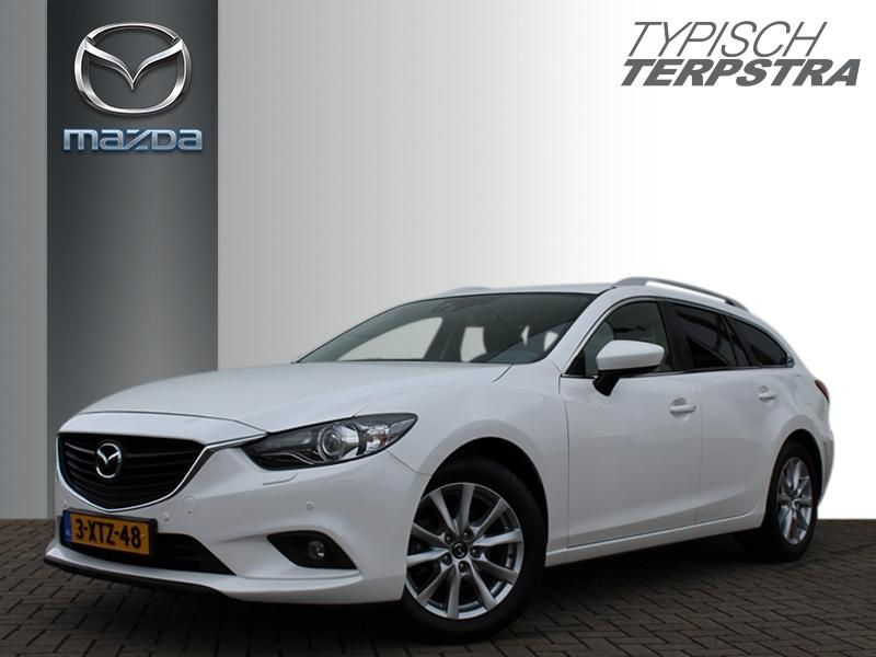 Mazda 6 Sportbreak 145 ts+ lease pack/trekhaak