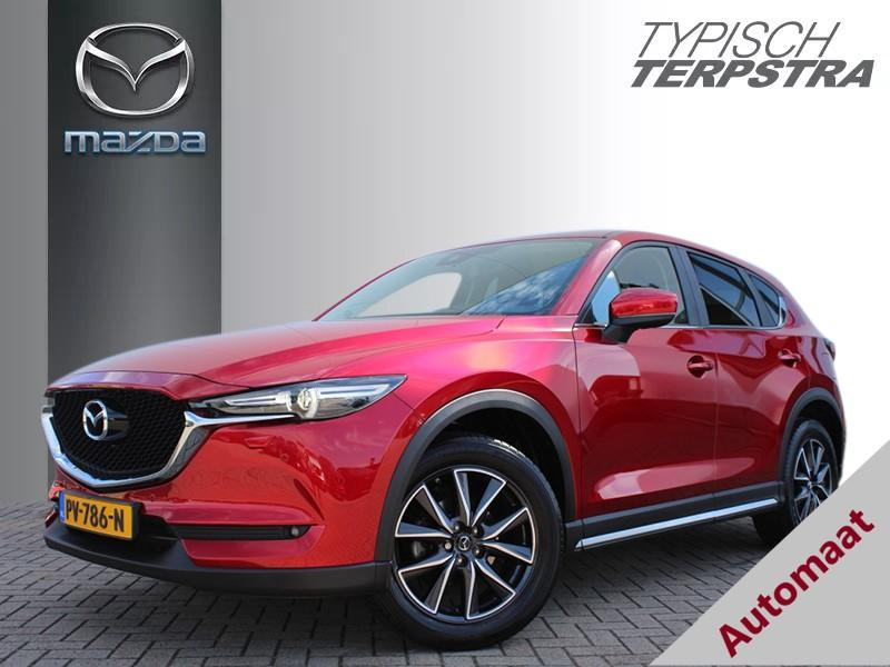 "Mazda Cx-5 Skyactiv-g 165 ts+ bose/leather pack/19"" lmv/trekhaak"