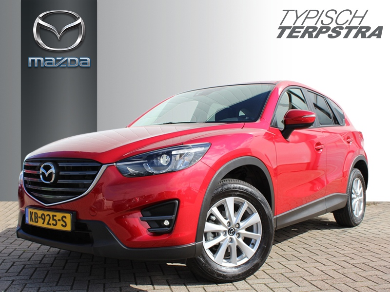 Mazda Cx-5 Skyactiv-g 165 ts+ bose/leather/navi/trekhaak