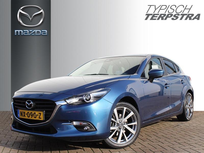 Mazda 3 Hb skyactiv-g 120 skylease+, 18-inch lichtmetalen velgen