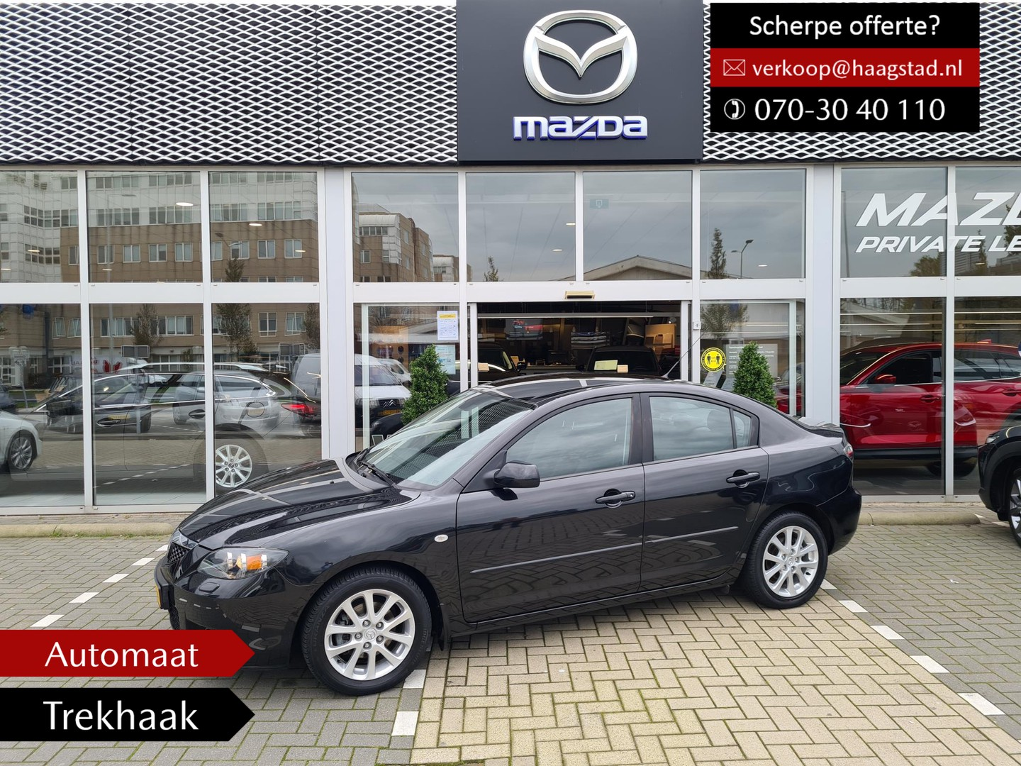 Mazda 3 1.6 s-vt executive trekhaak dealer onderhouden