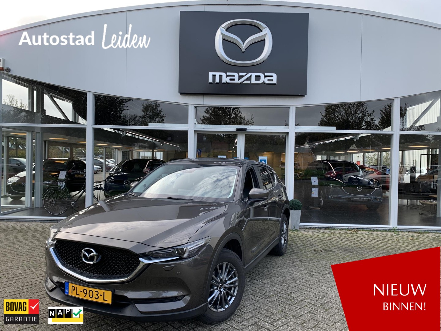 Mazda Cx-5 2.0 skyactiv-g 165 ts+ bose leather pack