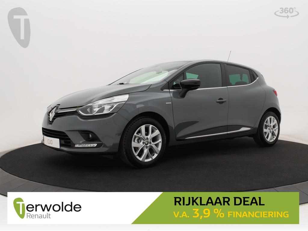 Renault Clio 120pk tce limited