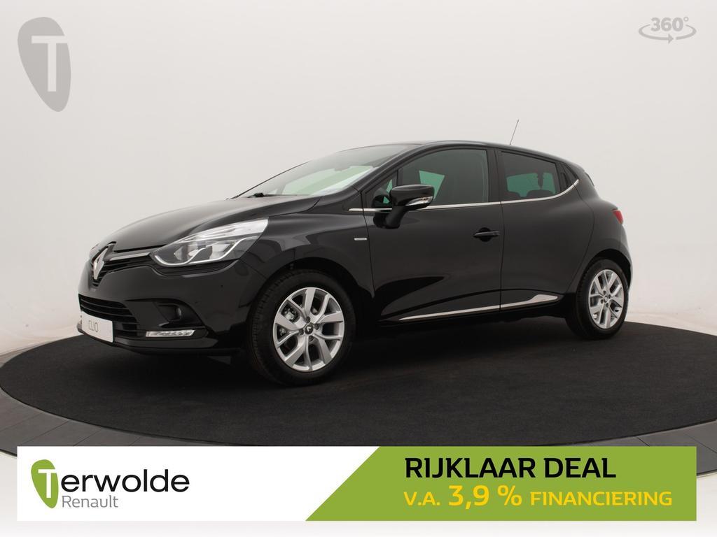 Renault Clio 90pk tce limited rijklaar deal
