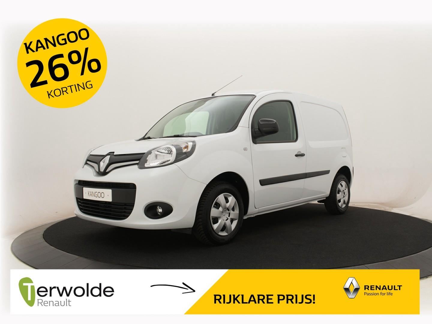 Renault Kangoo 1.5 dci 90 energy work edition nu 26% korting!!!
