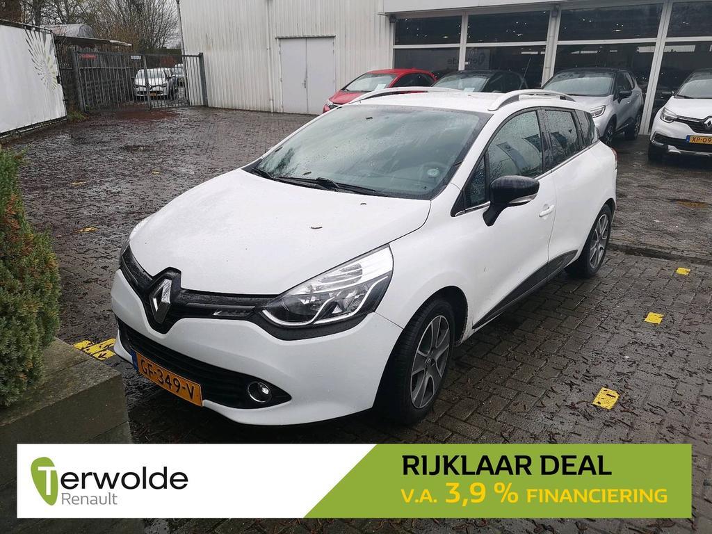 Renault Clio Estate 90pk tce night&day rijklaar deal