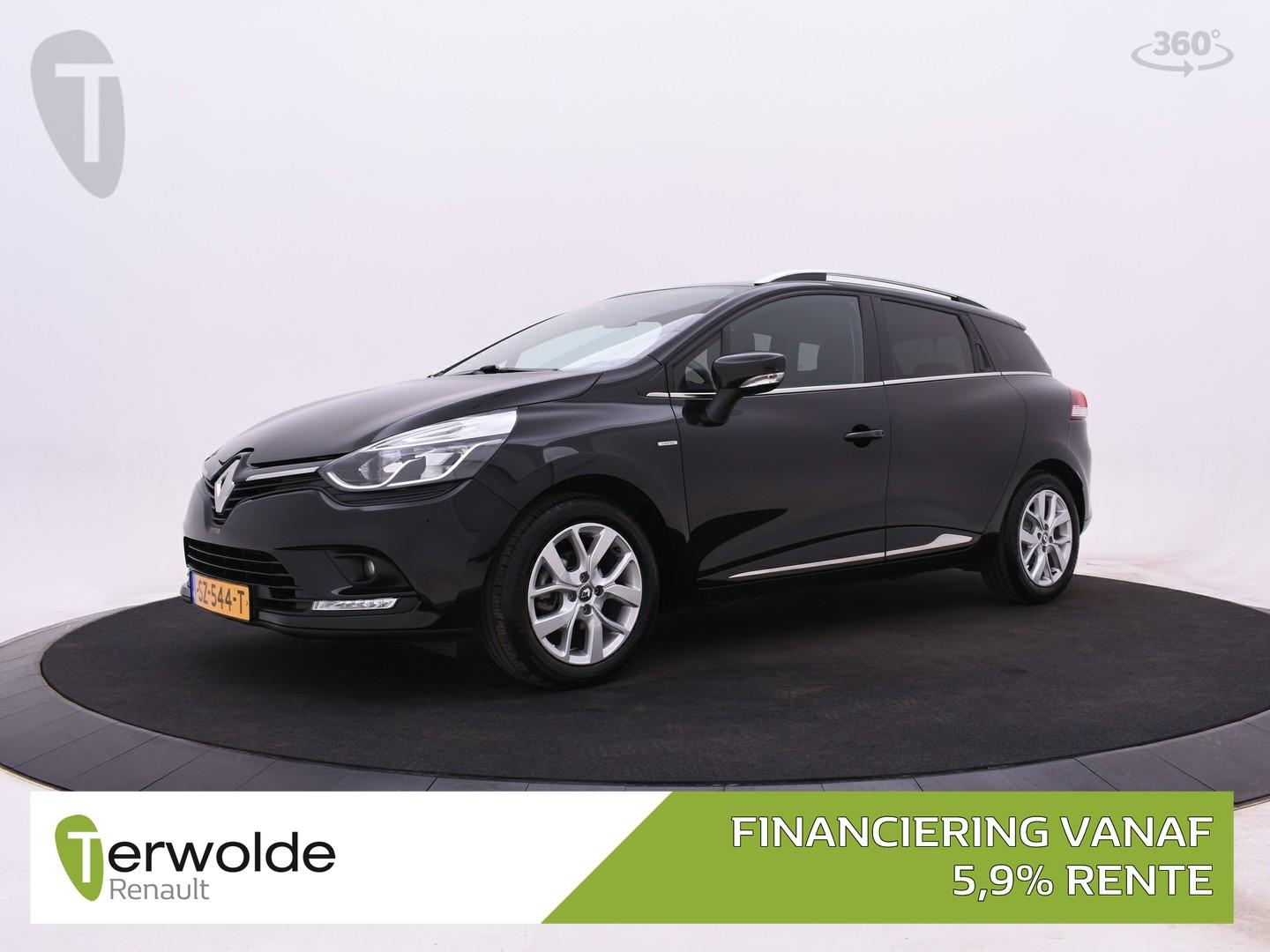 Renault Clio Estate 90pk tce limited