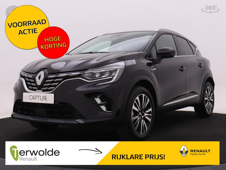Renault Captur Tce 155 pk initiale paris automaat!! nu €1.800,- voorraad korting  van €35970,- voor €34170,-!!