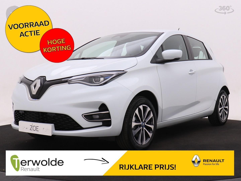 Renault Zoe R135 zen batterijkoop gratis prive laadpunt* of laadpas bij aanschaf van deze fantastische elektrische zoe