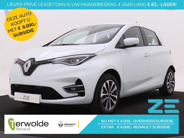 Renault Zoe R135 zen batterijkoop nu €4000,- subsidie* en €4000,- korting!!! ondersteuning op laadpunt* of laadpas bij aanschaf van deze fantastische elektrische zoe private lease v.a  €449,-