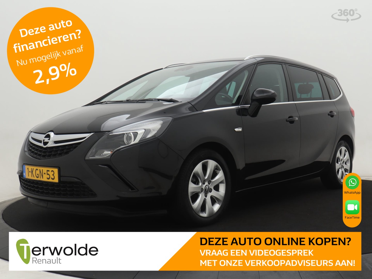 Opel Zafira Tourer 1.4 business+
