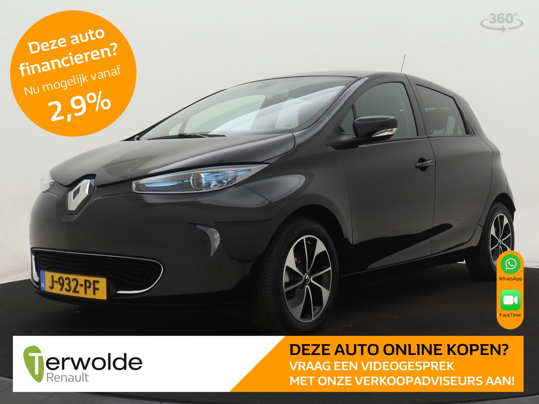 Renault Zoe R90 bose 41 kwh incl. accu