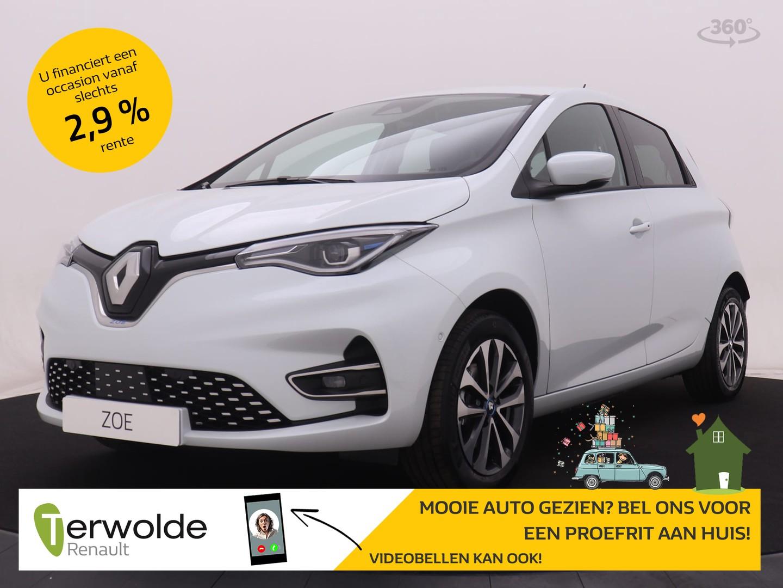 Renault Zoe R135 intens 50 accu huur proefrit aan huis is mogelijk!