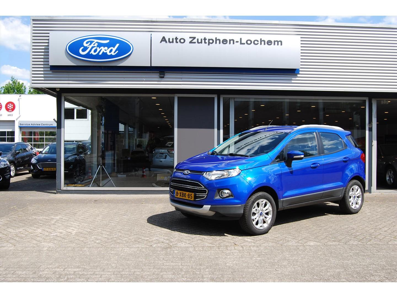 Ford Ecosport 1.0 ecoboost 125pk titanium cruise control /winterbanden /ned.auto/ trekhaak