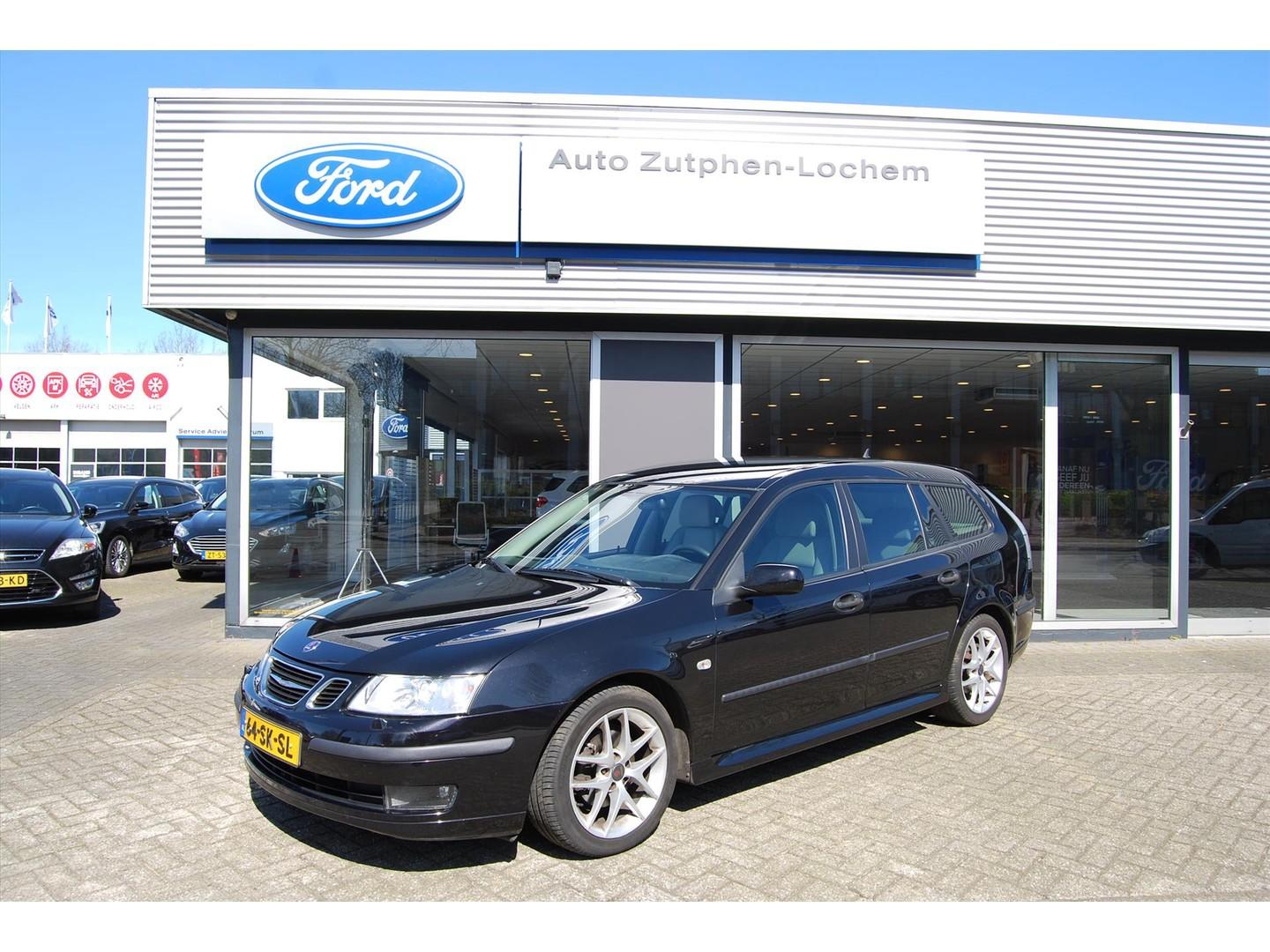 Saab 9-3 1.8t vector estate automaat/ leder/ dealeronderhouden/ youngtimer*