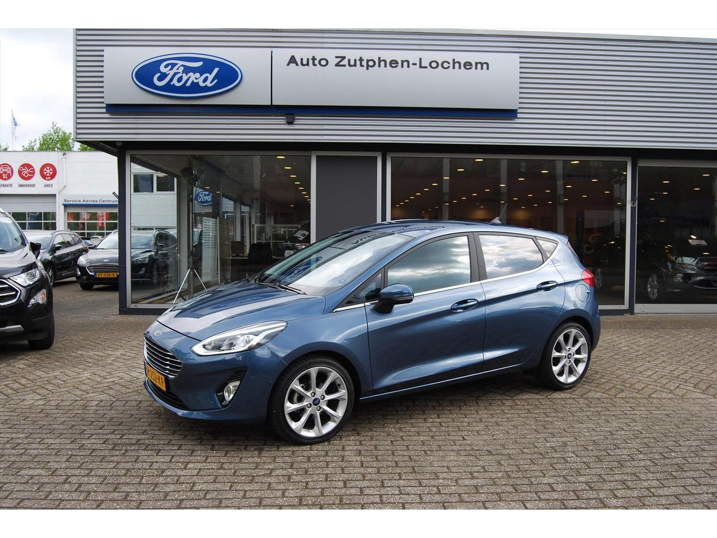 Ford Fiesta 1.0 ecoboost 100pk automaat, camera, pdc v+a