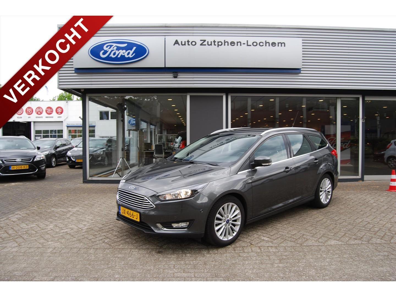 Ford Focus 1.0 ecoboost 100pk wagon, trekhaak, navi, ned. auto, 1e eig