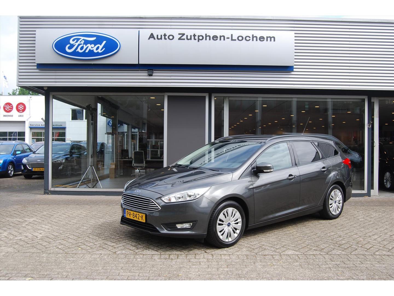 Ford Focus 1.0 ecobst 125pk wgn titanium navi/stoel/stuur en voorruit verwarming