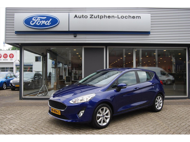Ford Fiesta 1.1 85pk 5dr trend 1e eigenaar/ navi/parkeersensoren/ned.auto