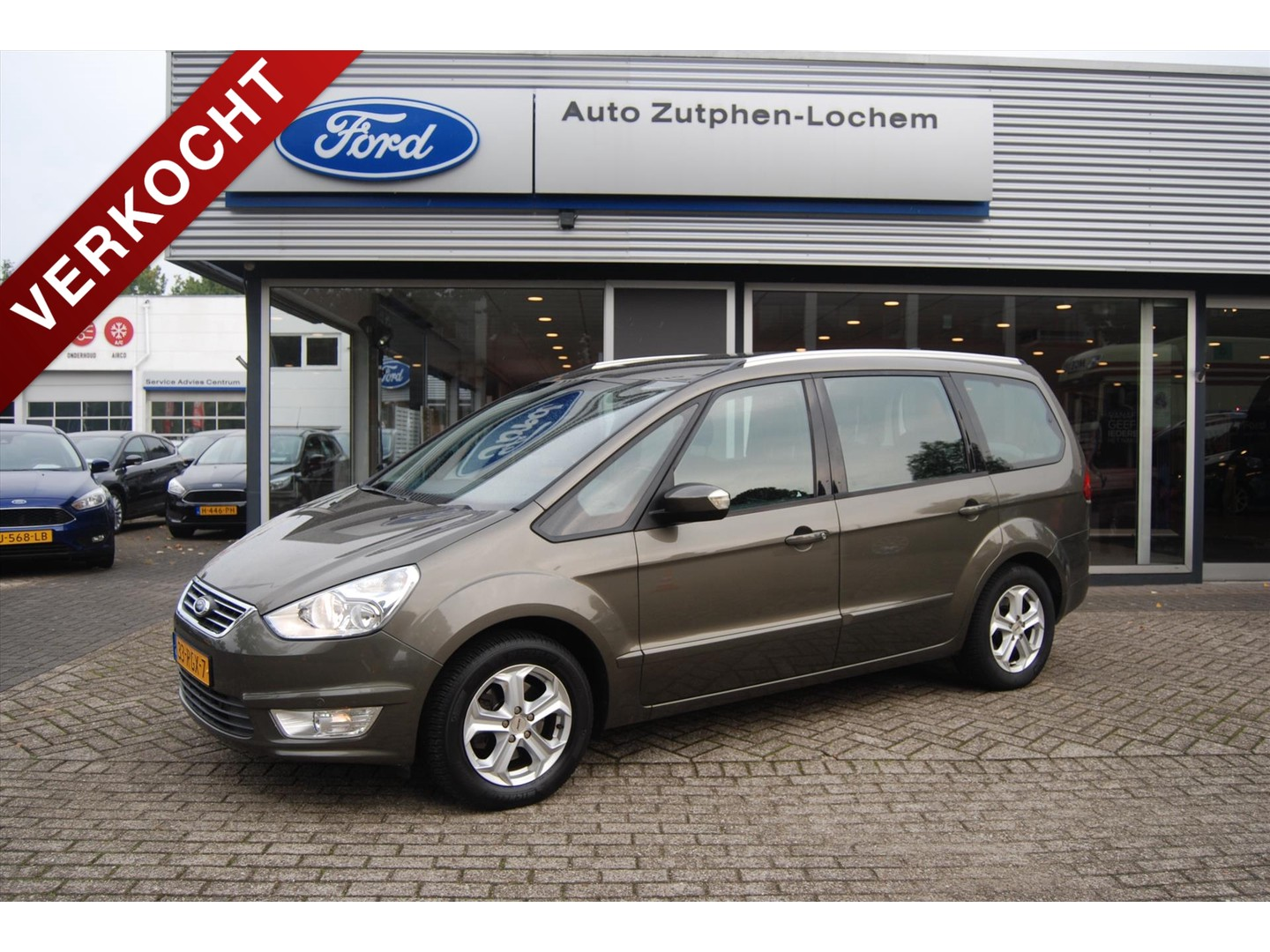 Ford Galaxy 1.6 ecoboost 160pk
