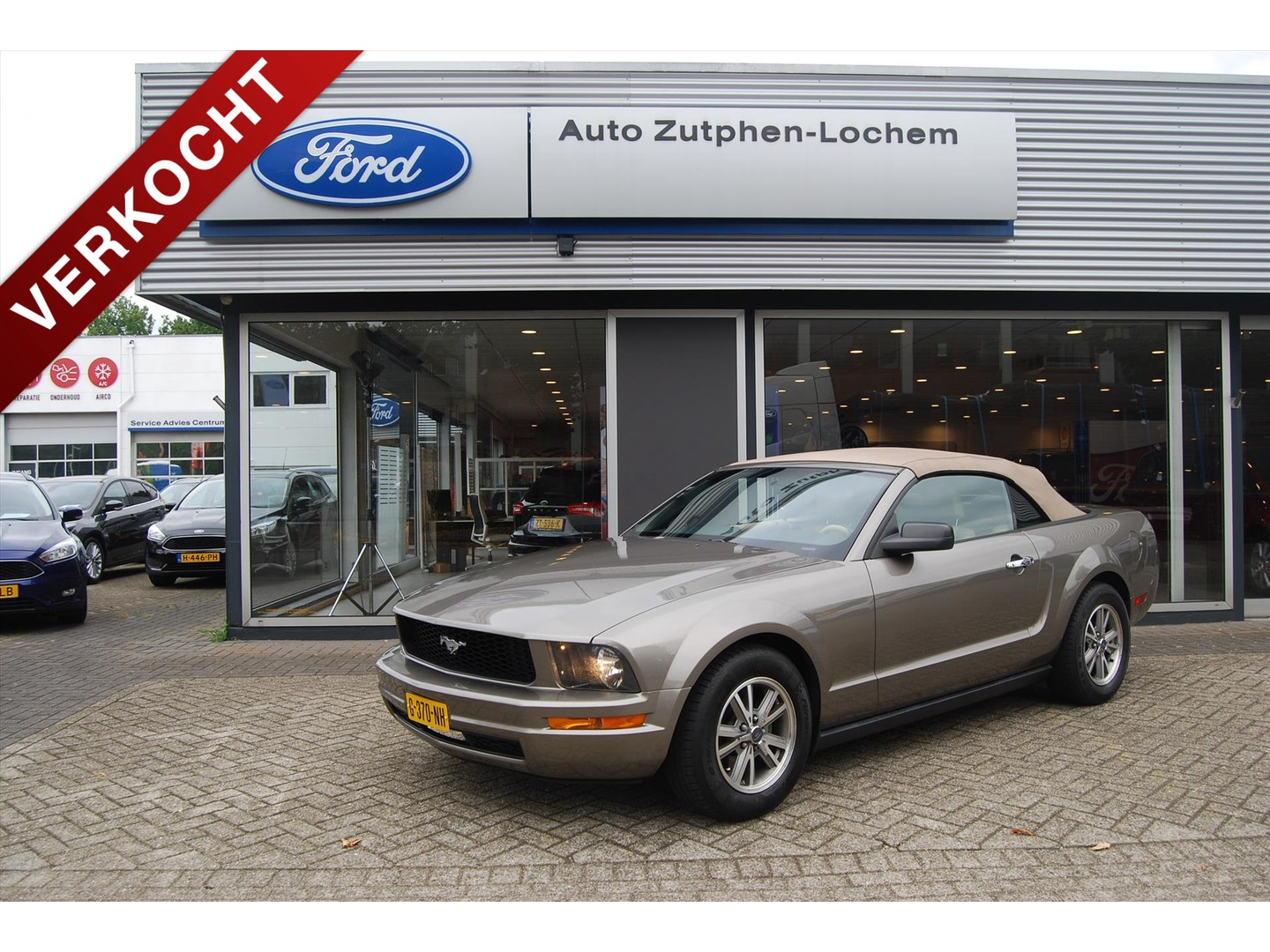 Ford Mustang Convertible 4.0 v6 204pk automaat