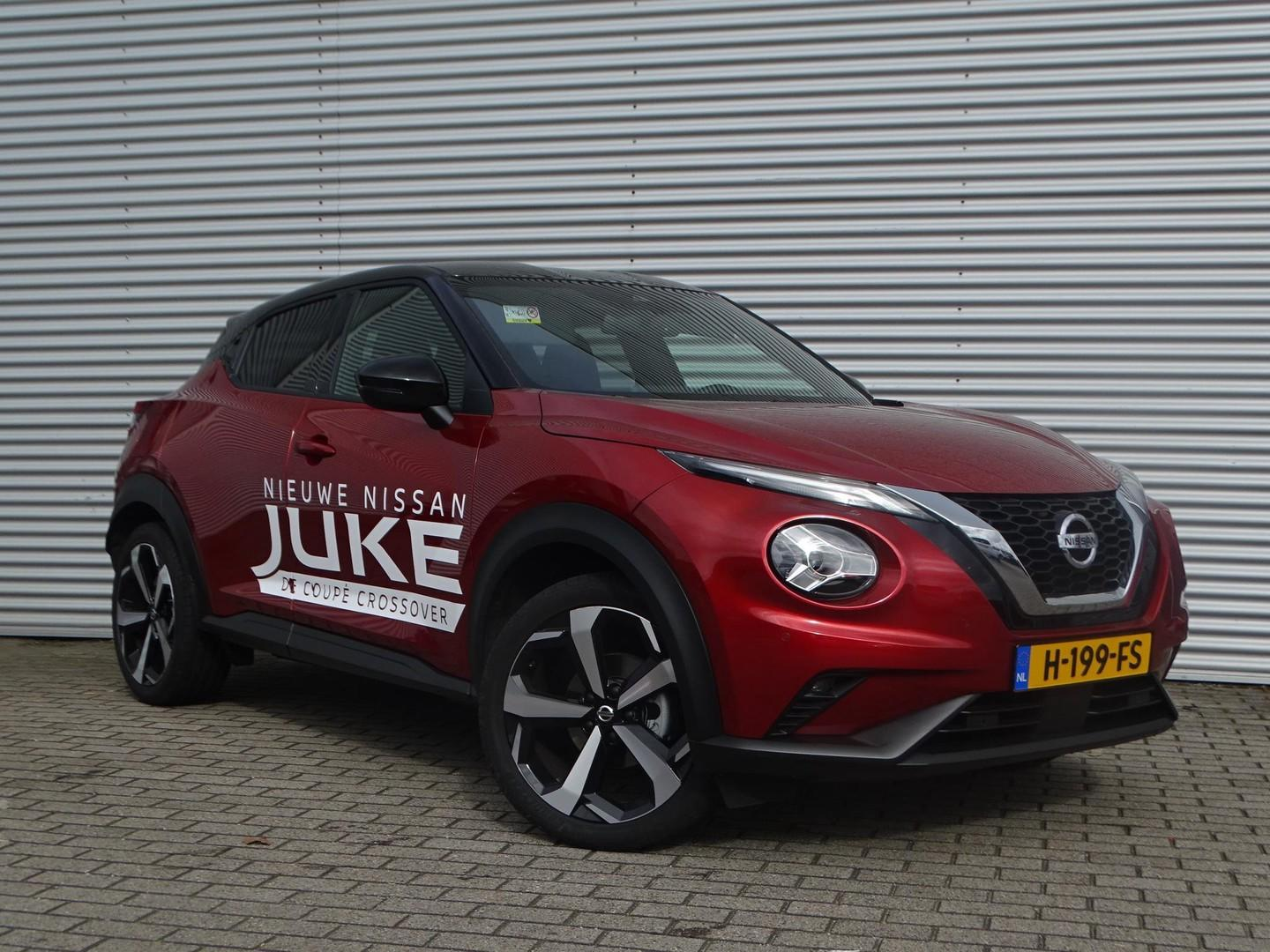 Nissan Juke 1.0 dig-t premiere edition automaat demo