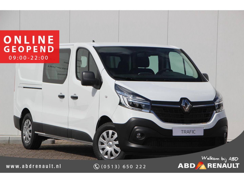 Renault Trafic Dubbel cabine 2.0 dci 145 t29 l2h1 dc comfort norm aal €34.055 nu rijklaar €21.945