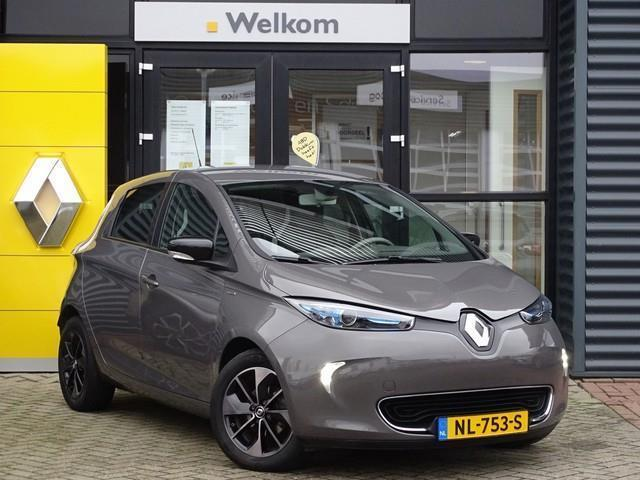 Renault Zoe Q90 bose quickcharge 41 kwh ex. btw