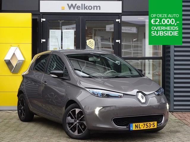 Renault Zoe Q90 bose quickcharge 41 kwh ex. btw