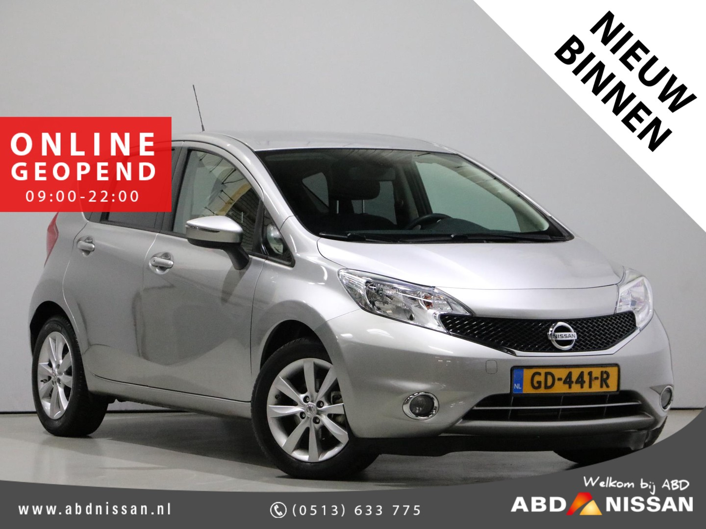Nissan Note 1.2 dig-s 98pk automaat connect edition