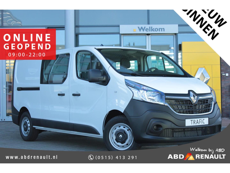 Renault Trafic 2.0 dci 120pk t29 l2/h1 dc generique normaal rijklaar € 27.400,- nu rijklaar € 23.500,-