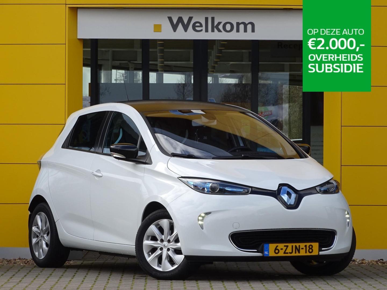 Renault Zoe Q210 zen quickcharge 22 kwh batterijkoop en tot €2000,00 subsidie