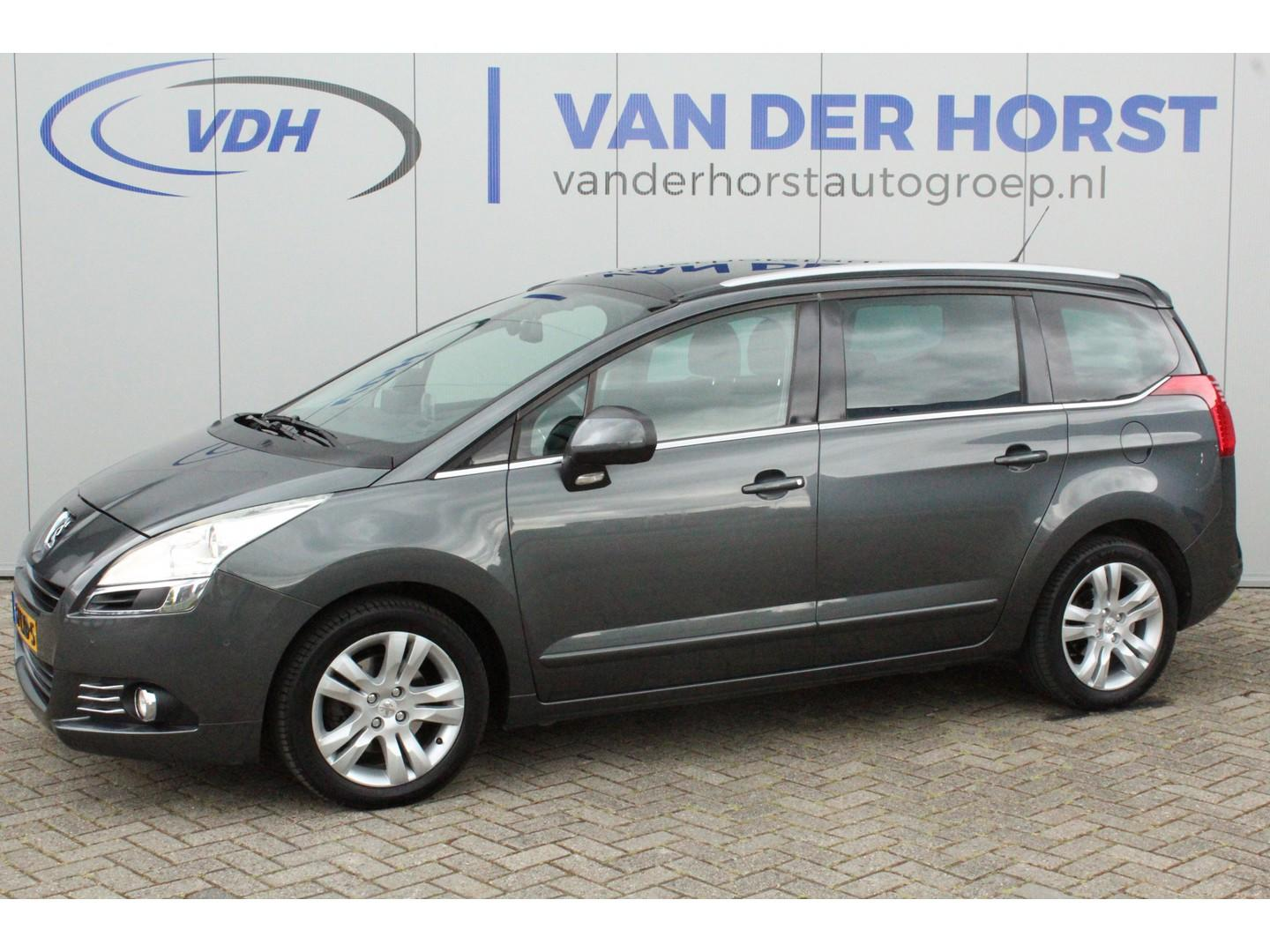 Peugeot 5008 1.6-157pk thp executive 7pers. panodak, navi, airco. nette, luxe 7persoons reiswagen.