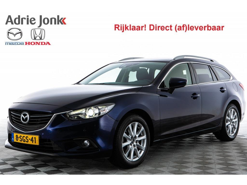 Mazda 6 Sportbreak 2.0 red dot edition xenon navi rijklaar!!