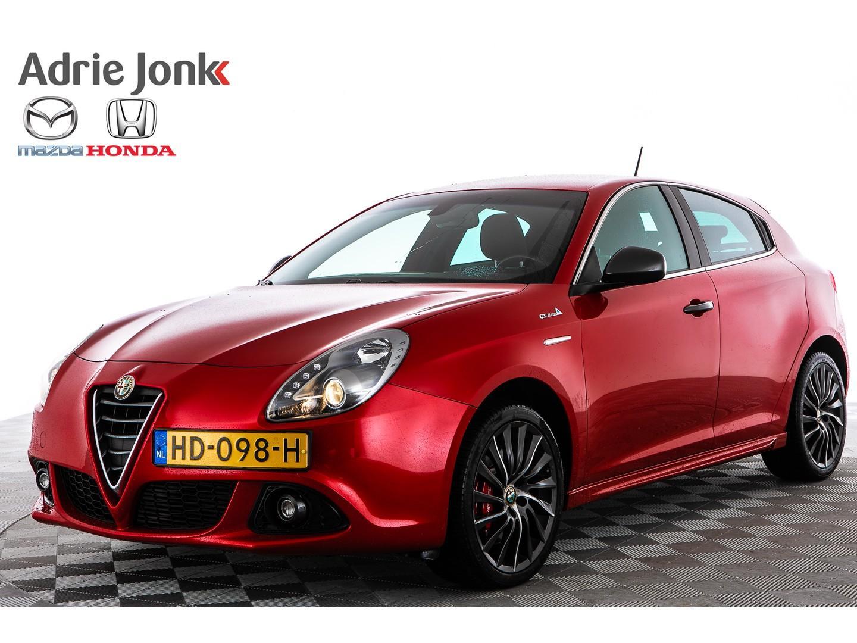 Alfa romeo Giulietta 2.0 jtdm 180 pk qv line exclusive leder nw staat!!
