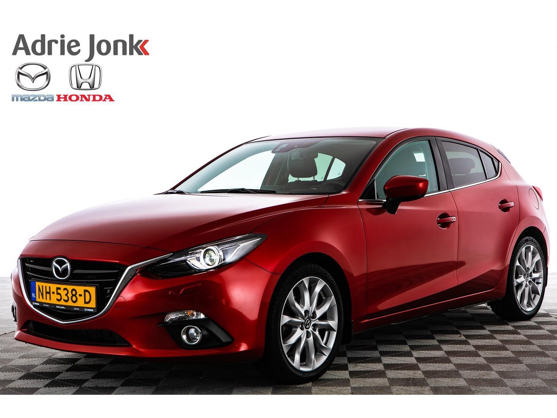 "Mazda 3 2.0 gt-m leder bose xenon 18"" rijklaar"