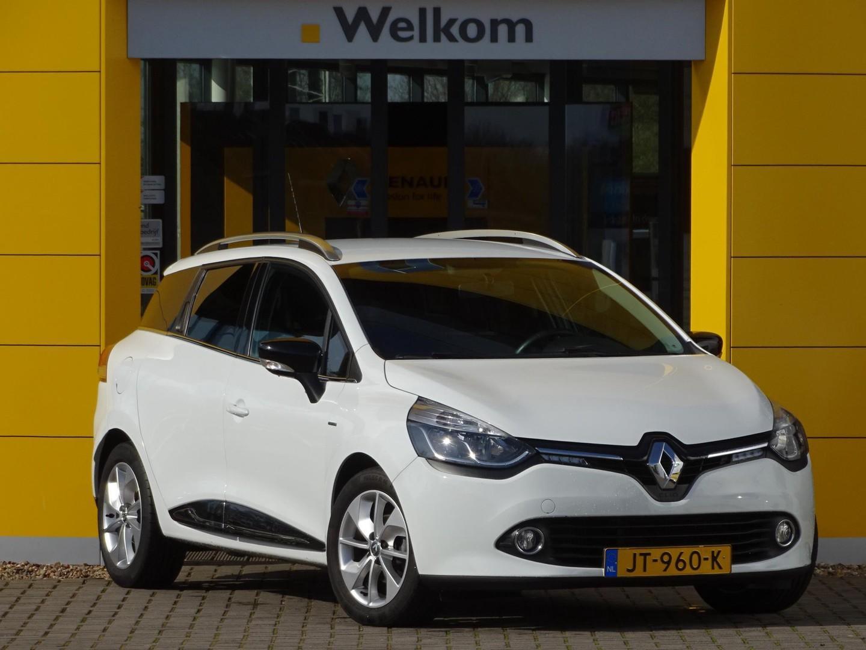 Renault Clio Estate 1.5 dci eco limited parkeersensoren l airco l navigatie l armsteun l lichtmetalen velgen l cruise controle