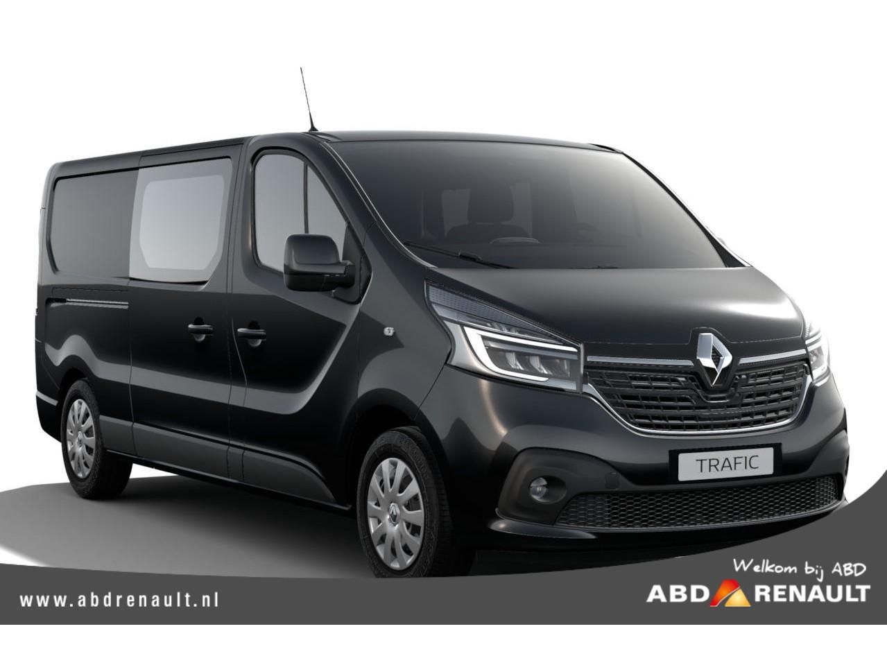 Renault Trafic 2.0 dci 120 t29 l2h1 dc business edition dubbele cabine nu rijklaar 25.365,- !