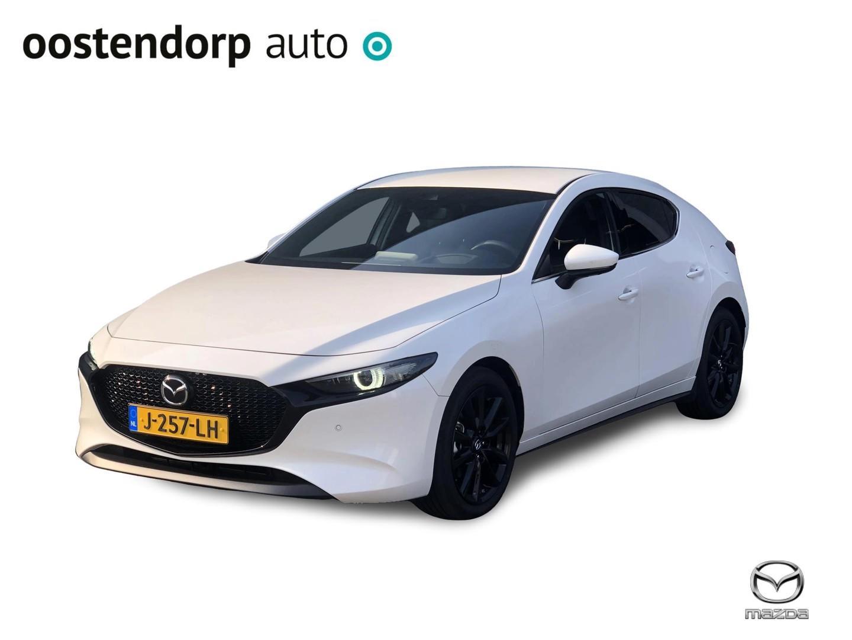 Mazda 3 2.0 skyactiv-x luxury i-active-sense / led / bose / leder verkocht onder voorbehoud