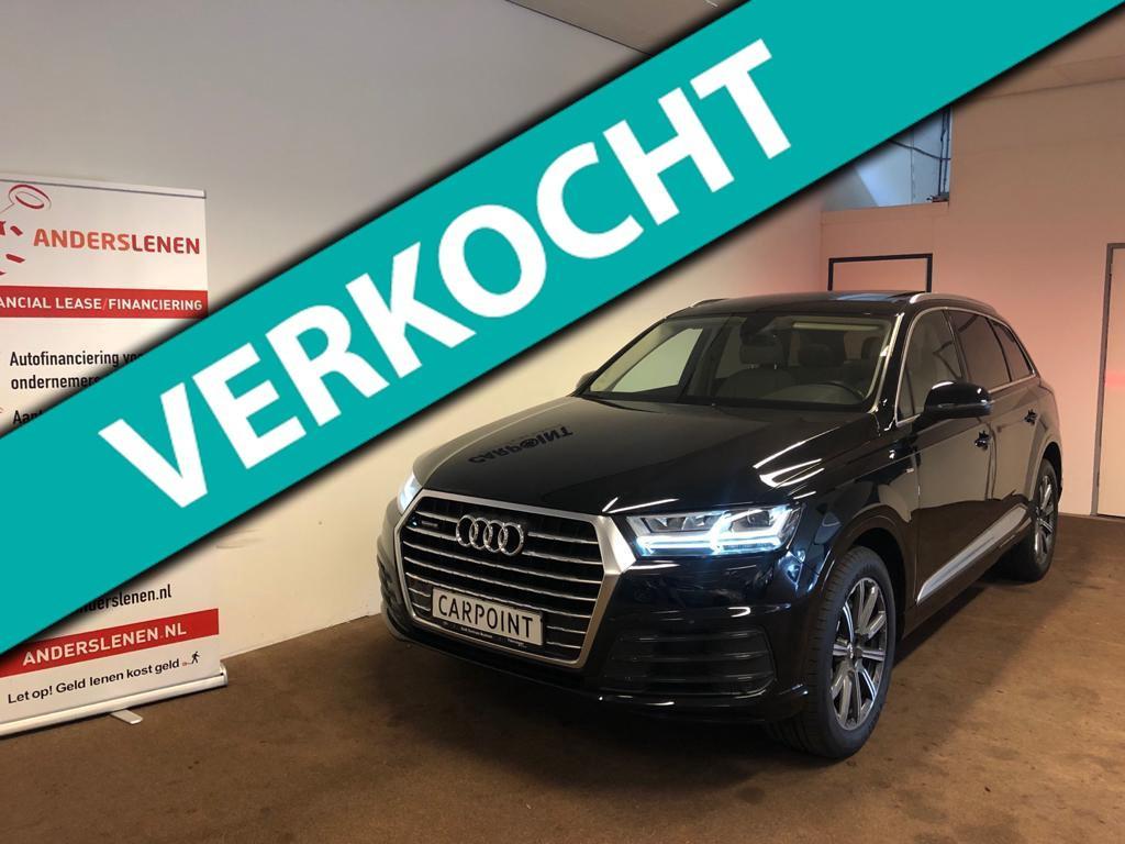 Audi Q7 3.0 tdi ultra quattro pro line s 7p 2017*panodak*virtual cockpit*matrix*1e eig.*volle uitv.