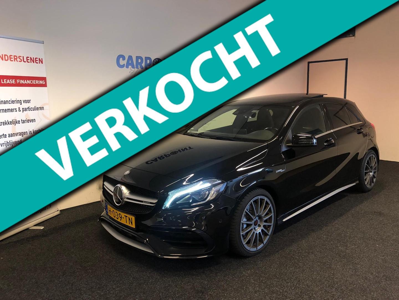 Mercedes-benz A-klasse A45 amg 4matic 2016 facelift*panodak*381pk*fabrieks garantie a 45 amg
