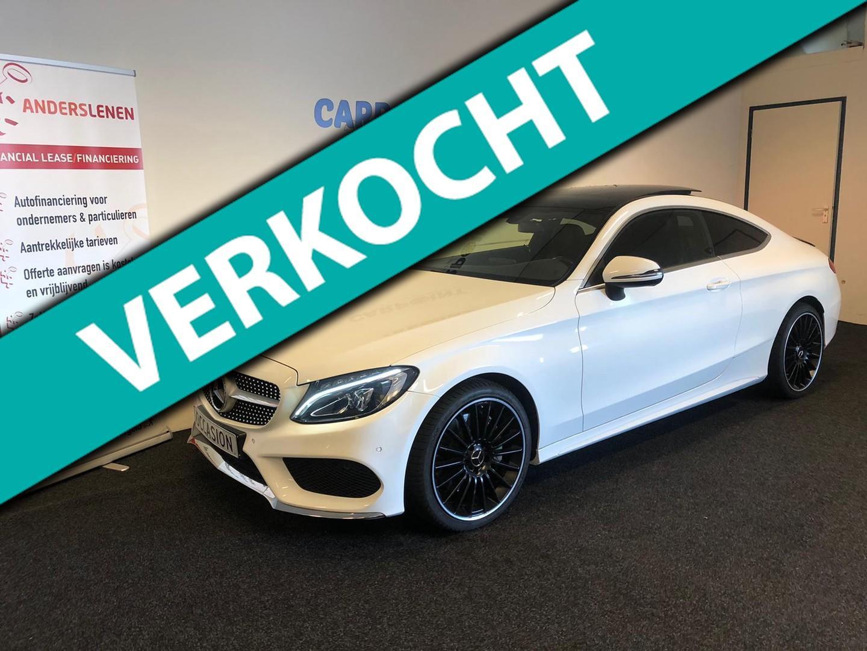 Mercedes-benz C-klasse Coupé 250 prestige 2016 amg*panodak*burmester*19 lm*diamond grill*vol