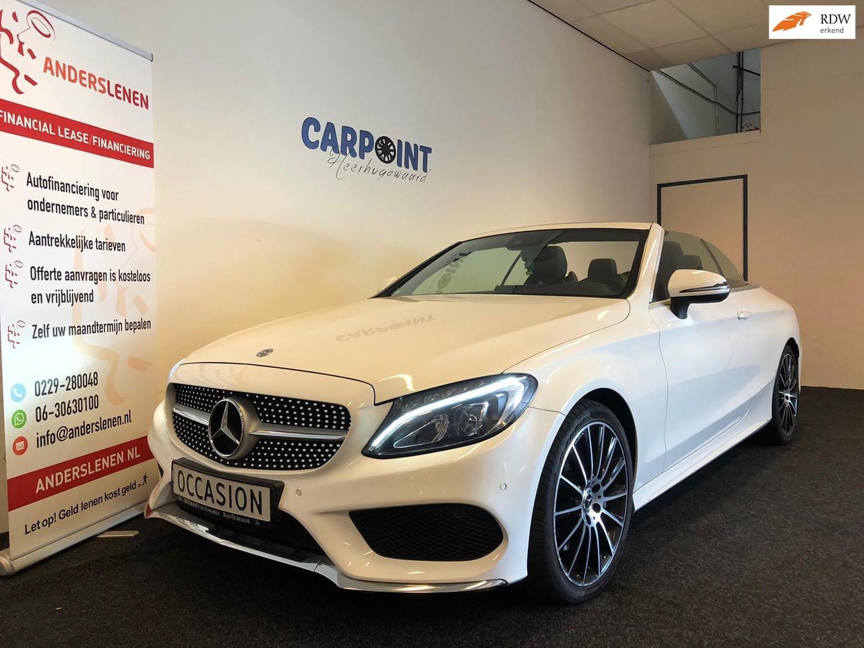 Mercedes-benz C-klasse Cabrio 250 premium plus 2017*amg*camera*burmester*navi*vol