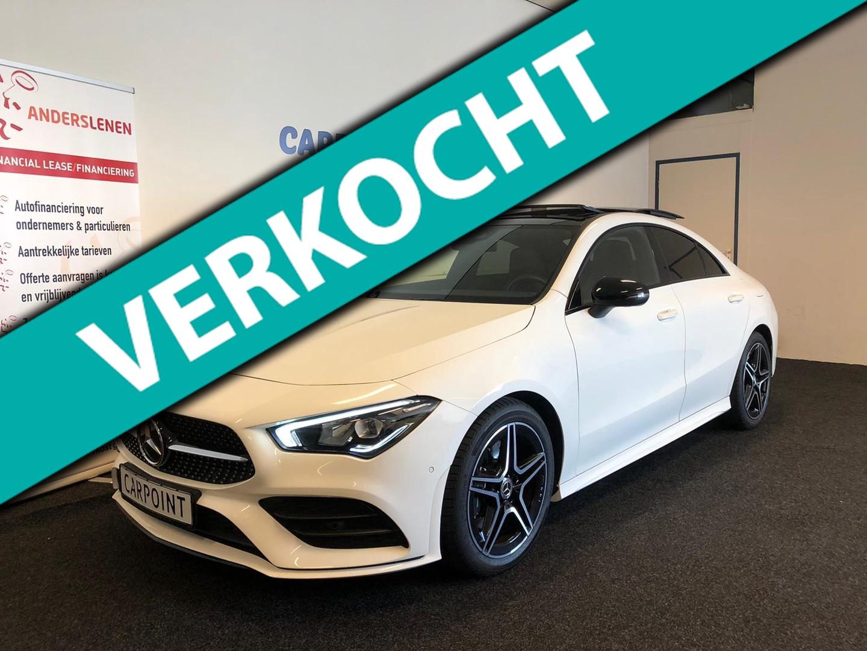 Mercedes-benz Cla-klasse 200 business solution amg 2019*pano*camera*wide screen*night*lijn assist*volle uitvoering
