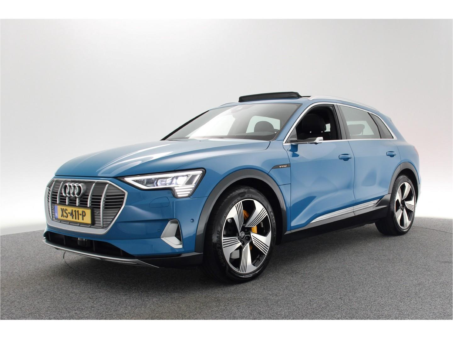 Audi E-tron E-tron 55 quattro advanced exterieur launch edition € 81.675 incl. btw / panoramadak / mmi navigatie plus / luchtvering / led / 21'' / leder