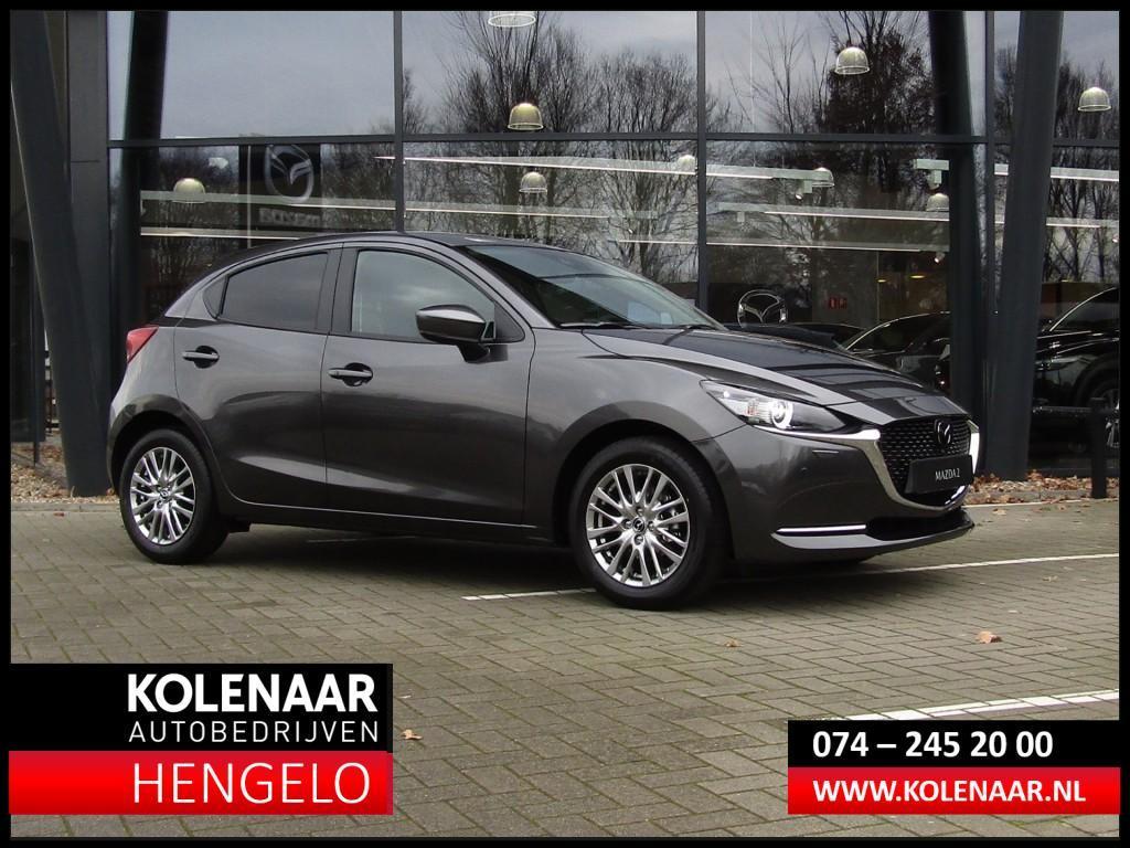 Mazda 2 Eur 1.500 voordeel 1.5i signature my2020 m hybrid led/navi/camer